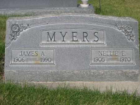 MYERS, NELLIE E. - Dawes County, Nebraska | NELLIE E. MYERS - Nebraska Gravestone Photos
