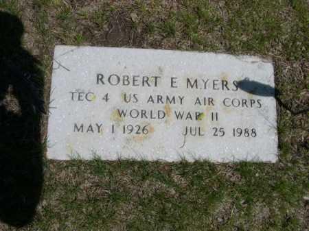 MYERS, ROBERT E. - Dawes County, Nebraska | ROBERT E. MYERS - Nebraska Gravestone Photos