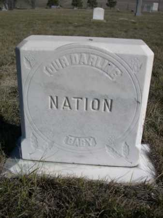 NATION, BABY - Dawes County, Nebraska | BABY NATION - Nebraska Gravestone Photos
