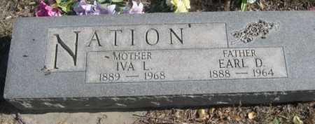NATION, IVA L. - Dawes County, Nebraska | IVA L. NATION - Nebraska Gravestone Photos
