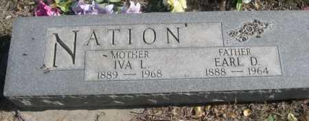 NATION, IVA L. - Dawes County, Nebraska | IVA L. NATION - Nebraska Gravestone Photos