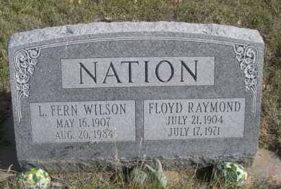 NATION, L. FERN - Dawes County, Nebraska | L. FERN NATION - Nebraska Gravestone Photos