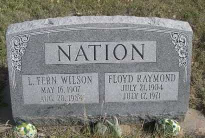 NATION, FLOYD RAYMOND - Dawes County, Nebraska | FLOYD RAYMOND NATION - Nebraska Gravestone Photos