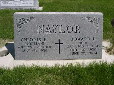 "NAYLOR, HOWARD L. ""BUD"" - Dawes County, Nebraska 