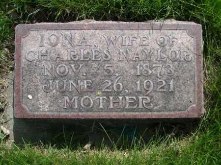 NAYLOR, IONA - Dawes County, Nebraska   IONA NAYLOR - Nebraska Gravestone Photos