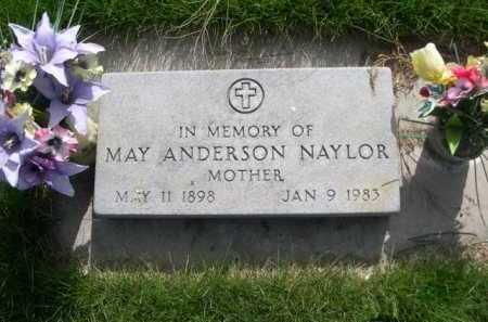 NAYLOR, MAY ANDERSON - Dawes County, Nebraska   MAY ANDERSON NAYLOR - Nebraska Gravestone Photos