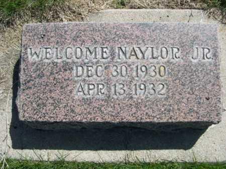 NAYLOR, WELCOME JR. - Dawes County, Nebraska   WELCOME JR. NAYLOR - Nebraska Gravestone Photos