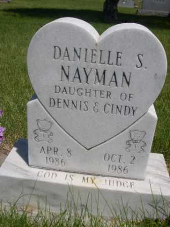 NAYMAN, DANIELLE S. - Dawes County, Nebraska | DANIELLE S. NAYMAN - Nebraska Gravestone Photos