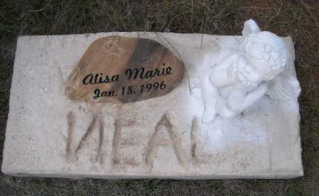 NEAL, ALISA MARIE - Dawes County, Nebraska   ALISA MARIE NEAL - Nebraska Gravestone Photos