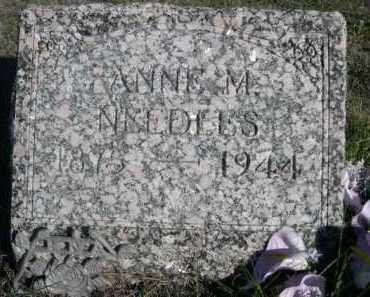 NEEDLES, ANNE M. - Dawes County, Nebraska | ANNE M. NEEDLES - Nebraska Gravestone Photos