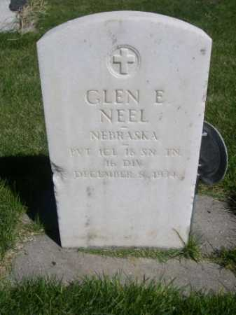 NEEL, GLEN E. - Dawes County, Nebraska | GLEN E. NEEL - Nebraska Gravestone Photos