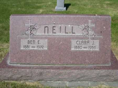 NEILL, CLARA J. - Dawes County, Nebraska | CLARA J. NEILL - Nebraska Gravestone Photos