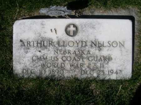 NELSON, ARTHUR LLOYD - Dawes County, Nebraska   ARTHUR LLOYD NELSON - Nebraska Gravestone Photos