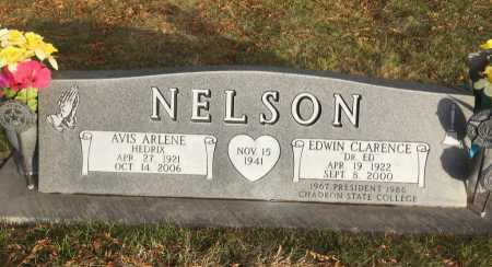 """NELSON, EDWIN CLARENCE """"DR. ED"""" - Dawes County, Nebraska 