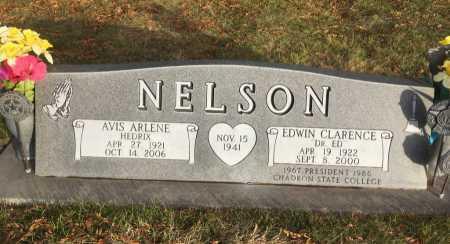 HEDRIX NELSON, AVIS ARLENE - Dawes County, Nebraska | AVIS ARLENE HEDRIX NELSON - Nebraska Gravestone Photos