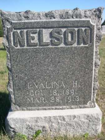 NELSON, EVALINA H. - Dawes County, Nebraska | EVALINA H. NELSON - Nebraska Gravestone Photos