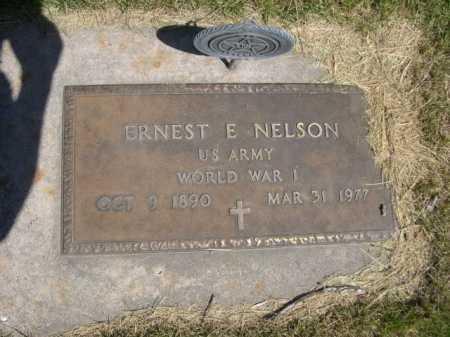 NELSON, ERNEST E. - Dawes County, Nebraska | ERNEST E. NELSON - Nebraska Gravestone Photos