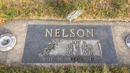 NELSON, JOY B. - Dawes County, Nebraska | JOY B. NELSON - Nebraska Gravestone Photos