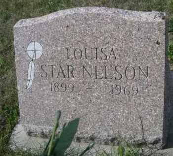 STAR NELSON, LOUISA - Dawes County, Nebraska | LOUISA STAR NELSON - Nebraska Gravestone Photos