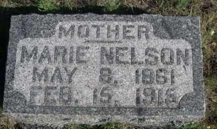 NELSON, MARIE - Dawes County, Nebraska | MARIE NELSON - Nebraska Gravestone Photos