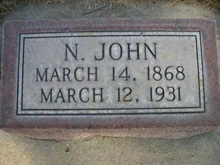 NELSON, N. JOHN - Dawes County, Nebraska | N. JOHN NELSON - Nebraska Gravestone Photos
