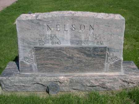 NELSON, OLUFFINE N. - Dawes County, Nebraska | OLUFFINE N. NELSON - Nebraska Gravestone Photos