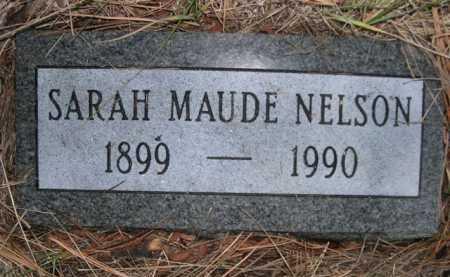 PARRISH NELSON, SARAH MAUDE - Dawes County, Nebraska | SARAH MAUDE PARRISH NELSON - Nebraska Gravestone Photos