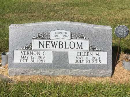 NEWBLOM, VERNON C. - Dawes County, Nebraska | VERNON C. NEWBLOM - Nebraska Gravestone Photos