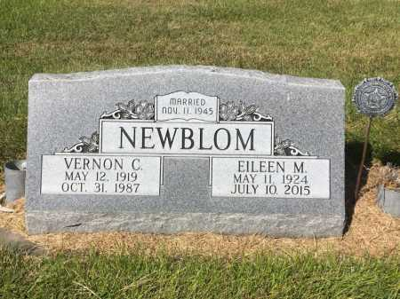 NEWBLOM, EILEEN M. - Dawes County, Nebraska | EILEEN M. NEWBLOM - Nebraska Gravestone Photos