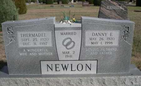 NEWLON, THERMADEL - Dawes County, Nebraska   THERMADEL NEWLON - Nebraska Gravestone Photos