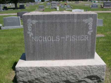 NICHOLS - FISHER, FAMILY - Dawes County, Nebraska   FAMILY NICHOLS - FISHER - Nebraska Gravestone Photos