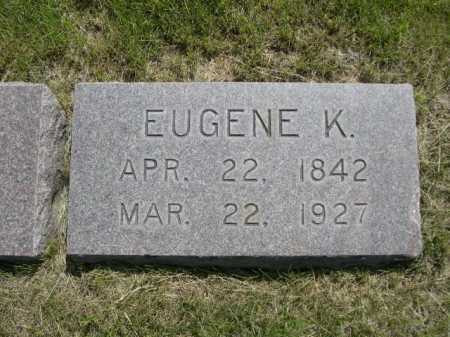 NICHOLS, EUGENE K. - Dawes County, Nebraska | EUGENE K. NICHOLS - Nebraska Gravestone Photos