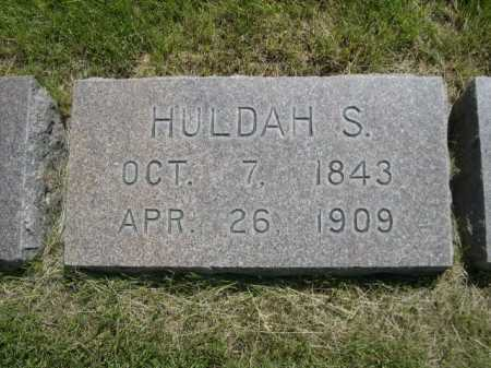 NICHOLS, HULDAH S. - Dawes County, Nebraska | HULDAH S. NICHOLS - Nebraska Gravestone Photos