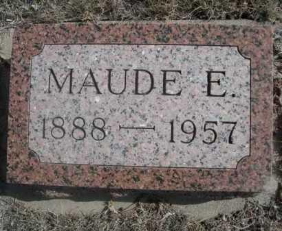 NICHOLS, MAUDE E. - Dawes County, Nebraska | MAUDE E. NICHOLS - Nebraska Gravestone Photos