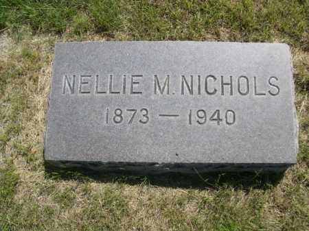 NICHOLS, NELLIE M. - Dawes County, Nebraska | NELLIE M. NICHOLS - Nebraska Gravestone Photos