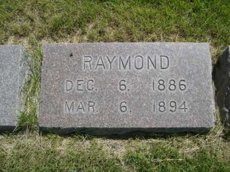 NICHOLS, RAYMOND - Dawes County, Nebraska | RAYMOND NICHOLS - Nebraska Gravestone Photos