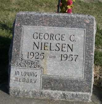NIELSEN, GEORGE C. - Dawes County, Nebraska | GEORGE C. NIELSEN - Nebraska Gravestone Photos