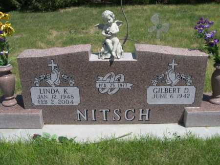 NITSCH, GILBERT D. - Dawes County, Nebraska | GILBERT D. NITSCH - Nebraska Gravestone Photos