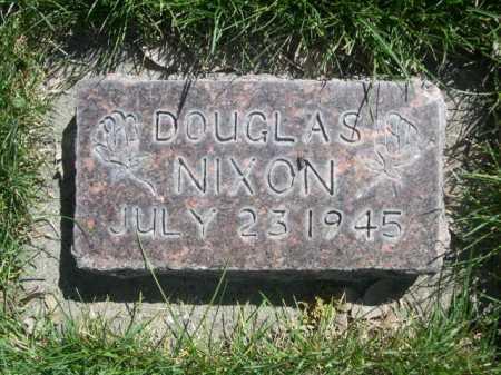 NIXON, DOUGLAS - Dawes County, Nebraska   DOUGLAS NIXON - Nebraska Gravestone Photos