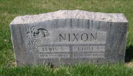 NIXON, LEWIS S - Dawes County, Nebraska | LEWIS S NIXON - Nebraska Gravestone Photos