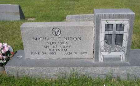 NIXON, MICHAEL - Dawes County, Nebraska   MICHAEL NIXON - Nebraska Gravestone Photos
