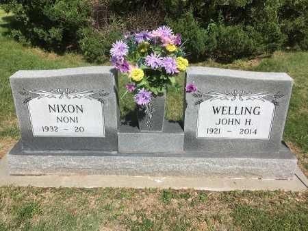 WELLING, JOHN H. - Dawes County, Nebraska | JOHN H. WELLING - Nebraska Gravestone Photos