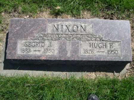 NIXON, HUGH F. - Dawes County, Nebraska   HUGH F. NIXON - Nebraska Gravestone Photos