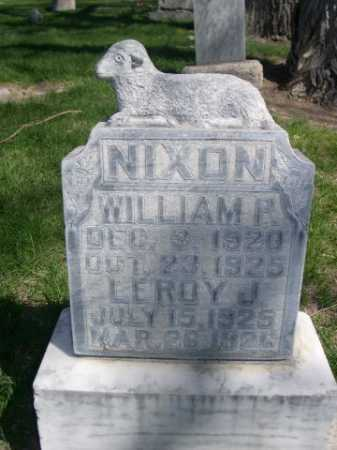 NIXON, WILLIAM P. - Dawes County, Nebraska | WILLIAM P. NIXON - Nebraska Gravestone Photos