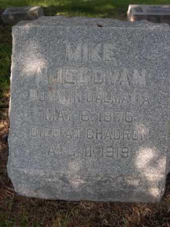NJEGOVAN, MIKE - Dawes County, Nebraska | MIKE NJEGOVAN - Nebraska Gravestone Photos