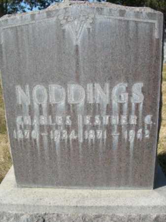 NODDINGS, CHARLES - Dawes County, Nebraska | CHARLES NODDINGS - Nebraska Gravestone Photos