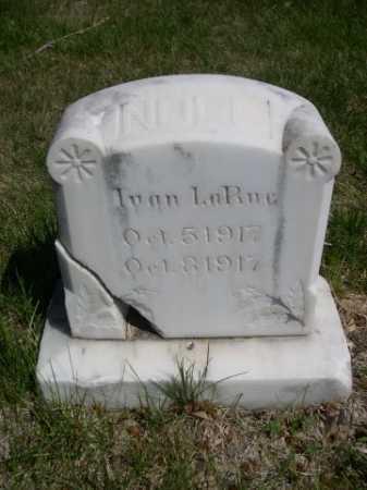 NOLL, IVAN LARUE - Dawes County, Nebraska   IVAN LARUE NOLL - Nebraska Gravestone Photos