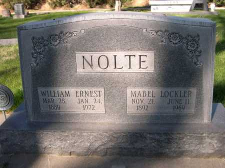 NOLTE, MABEL LOCKLER - Dawes County, Nebraska | MABEL LOCKLER NOLTE - Nebraska Gravestone Photos