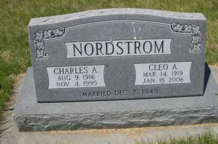 NORDSTROM, CHARLES A. - Dawes County, Nebraska | CHARLES A. NORDSTROM - Nebraska Gravestone Photos