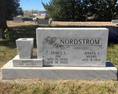 MYERS NORDSTROM, ANITA I. - Dawes County, Nebraska | ANITA I. MYERS NORDSTROM - Nebraska Gravestone Photos